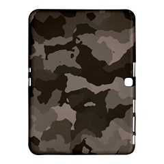 Background For Scrapbooking Or Other Camouflage Patterns Beige And Brown Samsung Galaxy Tab 4 (10.1 ) Hardshell Case