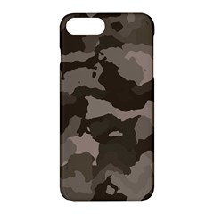 Background For Scrapbooking Or Other Camouflage Patterns Beige And Brown Apple Iphone 7 Plus Hardshell Case
