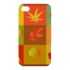 Autumn Leaves Colorful Fall Foliage Apple iPhone 4/4S Hardshell Case