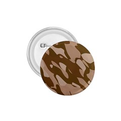 Background For Scrapbooking Or Other Beige And Brown Camouflage Patterns 1.75  Buttons
