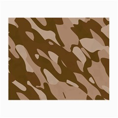 Background For Scrapbooking Or Other Beige And Brown Camouflage Patterns Small Glasses Cloth