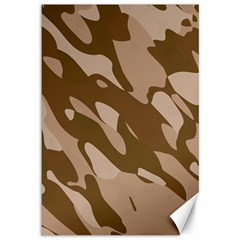 Background For Scrapbooking Or Other Beige And Brown Camouflage Patterns Canvas 12  x 18