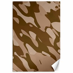 Background For Scrapbooking Or Other Beige And Brown Camouflage Patterns Canvas 20  x 30