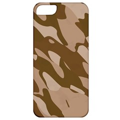Background For Scrapbooking Or Other Beige And Brown Camouflage Patterns Apple iPhone 5 Classic Hardshell Case