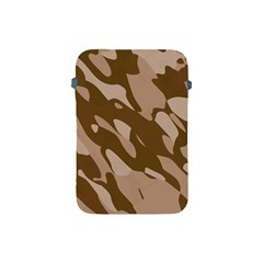 Background For Scrapbooking Or Other Beige And Brown Camouflage Patterns Apple iPad Mini Protective Soft Cases