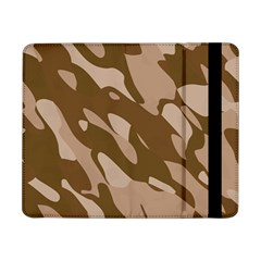 Background For Scrapbooking Or Other Beige And Brown Camouflage Patterns Samsung Galaxy Tab Pro 8.4  Flip Case