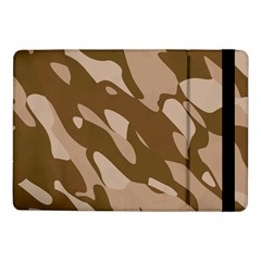 Background For Scrapbooking Or Other Beige And Brown Camouflage Patterns Samsung Galaxy Tab Pro 10 1  Flip Case