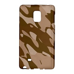 Background For Scrapbooking Or Other Beige And Brown Camouflage Patterns Galaxy Note Edge
