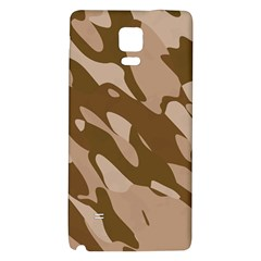 Background For Scrapbooking Or Other Beige And Brown Camouflage Patterns Galaxy Note 4 Back Case