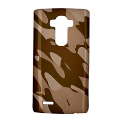 Background For Scrapbooking Or Other Beige And Brown Camouflage Patterns LG G4 Hardshell Case