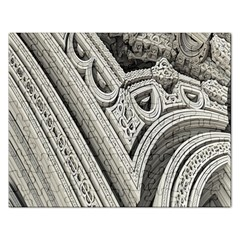 Arches Fractal Chaos Church Arch Rectangular Jigsaw Puzzl