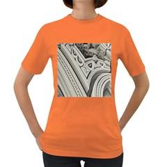Arches Fractal Chaos Church Arch Women s Dark T-Shirt