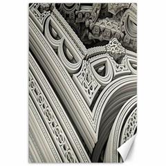 Arches Fractal Chaos Church Arch Canvas 20  x 30