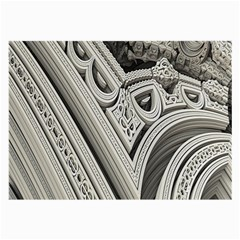 Arches Fractal Chaos Church Arch Large Glasses Cloth (2-Side)