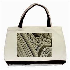 Arches Fractal Chaos Church Arch Basic Tote Bag (Two Sides)