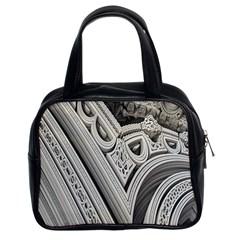 Arches Fractal Chaos Church Arch Classic Handbags (2 Sides)
