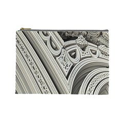 Arches Fractal Chaos Church Arch Cosmetic Bag (Large)
