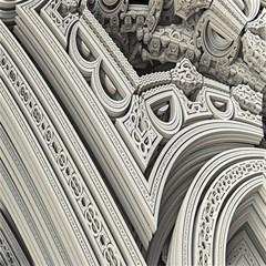 Arches Fractal Chaos Church Arch Magic Photo Cubes
