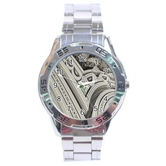 Arches Fractal Chaos Church Arch Stainless Steel Analogue Watch