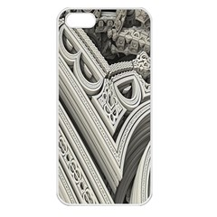 Arches Fractal Chaos Church Arch Apple iPhone 5 Seamless Case (White)