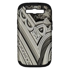 Arches Fractal Chaos Church Arch Samsung Galaxy S III Hardshell Case (PC+Silicone)