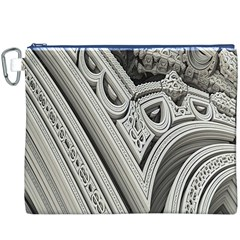 Arches Fractal Chaos Church Arch Canvas Cosmetic Bag (XXXL)