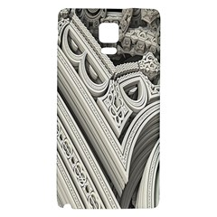 Arches Fractal Chaos Church Arch Galaxy Note 4 Back Case