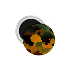 Background For Scrapbooking Or Other Camouflage Patterns Orange And Green 1.75  Magnets
