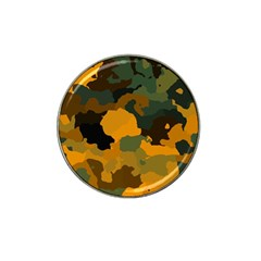 Background For Scrapbooking Or Other Camouflage Patterns Orange And Green Hat Clip Ball Marker (4 pack)