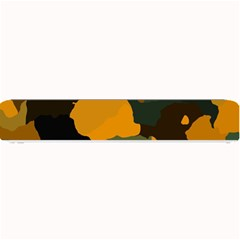 Background For Scrapbooking Or Other Camouflage Patterns Orange And Green Small Bar Mats