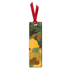 Background For Scrapbooking Or Other Camouflage Patterns Orange And Green Small Book Marks