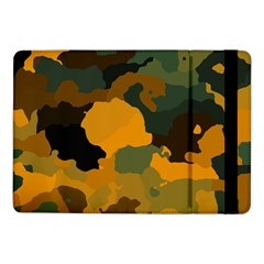 Background For Scrapbooking Or Other Camouflage Patterns Orange And Green Samsung Galaxy Tab Pro 10 1  Flip Case