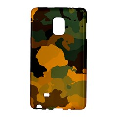 Background For Scrapbooking Or Other Camouflage Patterns Orange And Green Galaxy Note Edge