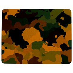 Background For Scrapbooking Or Other Camouflage Patterns Orange And Green Jigsaw Puzzle Photo Stand (Rectangular)