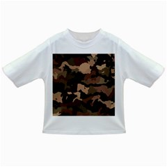 Background For Scrapbooking Or Other Camouflage Patterns Beige And Brown Infant/Toddler T-Shirts