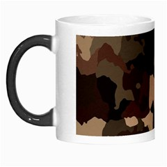 Background For Scrapbooking Or Other Camouflage Patterns Beige And Brown Morph Mugs