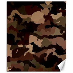 Background For Scrapbooking Or Other Camouflage Patterns Beige And Brown Canvas 20  x 24