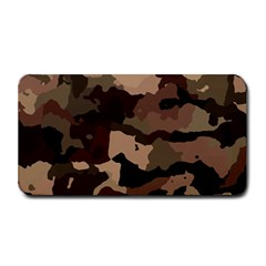 Background For Scrapbooking Or Other Camouflage Patterns Beige And Brown Medium Bar Mats