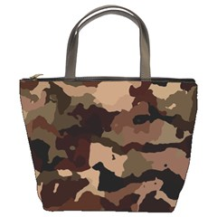 Background For Scrapbooking Or Other Camouflage Patterns Beige And Brown Bucket Bags