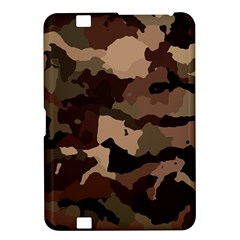 Background For Scrapbooking Or Other Camouflage Patterns Beige And Brown Kindle Fire HD 8.9