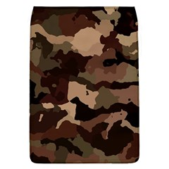 Background For Scrapbooking Or Other Camouflage Patterns Beige And Brown Flap Covers (L)