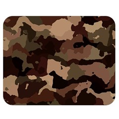 Background For Scrapbooking Or Other Camouflage Patterns Beige And Brown Double Sided Flano Blanket (Medium)