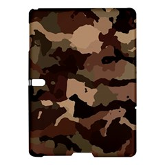 Background For Scrapbooking Or Other Camouflage Patterns Beige And Brown Samsung Galaxy Tab S (10.5 ) Hardshell Case