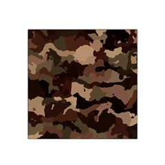 Background For Scrapbooking Or Other Camouflage Patterns Beige And Brown Satin Bandana Scarf