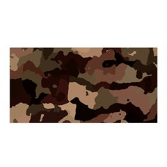 Background For Scrapbooking Or Other Camouflage Patterns Beige And Brown Satin Wrap