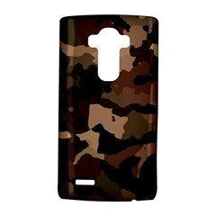 Background For Scrapbooking Or Other Camouflage Patterns Beige And Brown LG G4 Hardshell Case