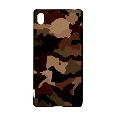 Background For Scrapbooking Or Other Camouflage Patterns Beige And Brown Sony Xperia Z3+