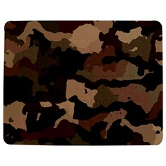 Background For Scrapbooking Or Other Camouflage Patterns Beige And Brown Jigsaw Puzzle Photo Stand (Rectangular)