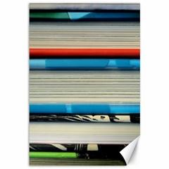 Background Book Books Children Canvas 12  x 18