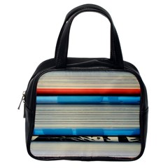 Background Book Books Children Classic Handbags (One Side)